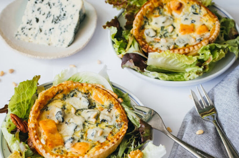 quiche saumon saint agur